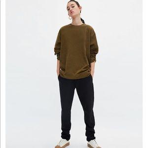 Khaki  Ungendered Sweatshirt, NWT